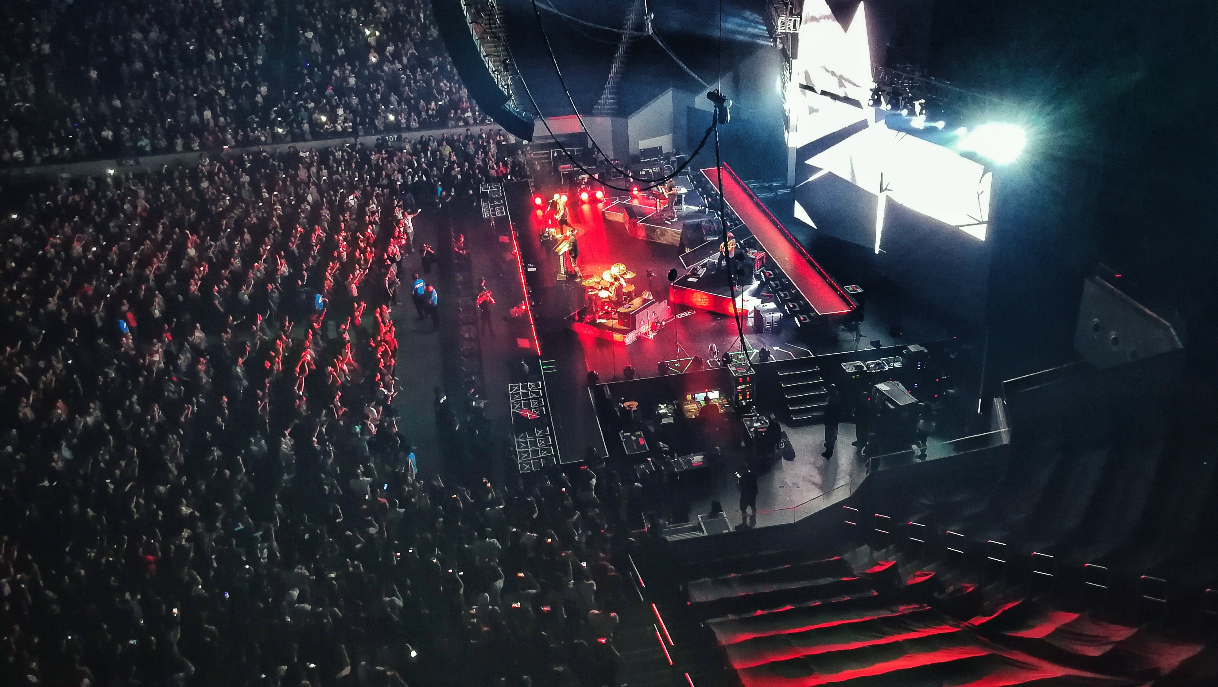 Free stock photo of arena, concert, Convert venue, crowd