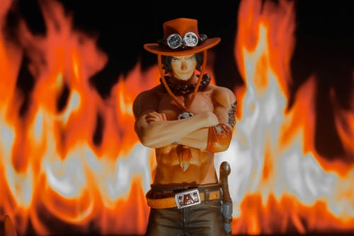Free stock photo of ace, action figure, fire, miniature toy