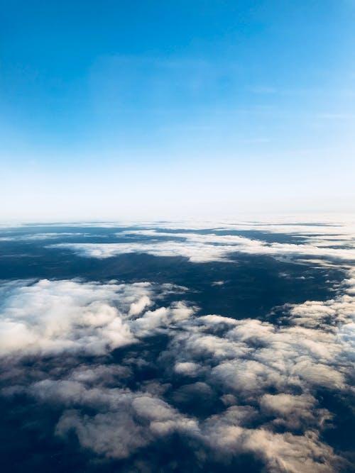Gratis lagerfoto af blå himmel, skyer