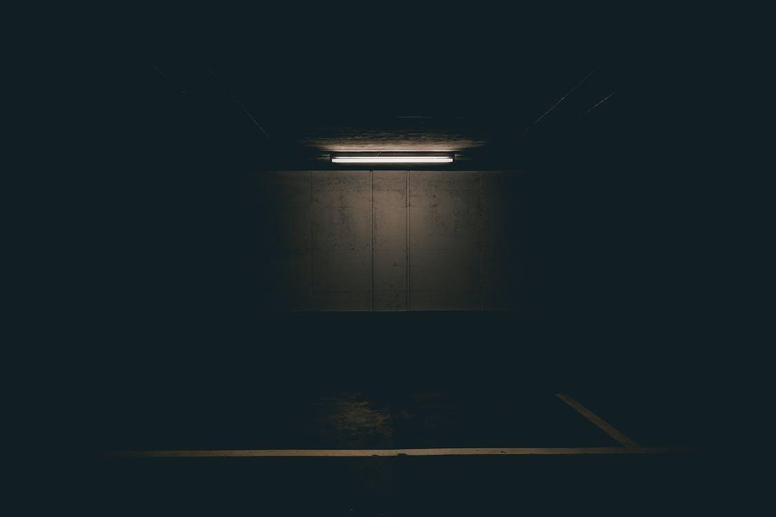 Lighted Fluorescent Tube