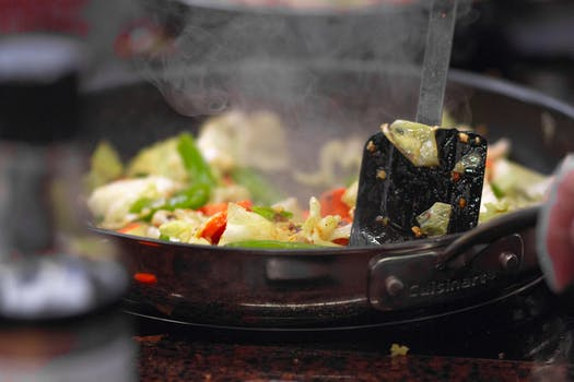 Black Cooking Pot And Smoke In Close Up Photography 183 Free