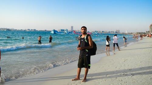 Základová fotografie zdarma na téma Dubaj, jbr, pláž