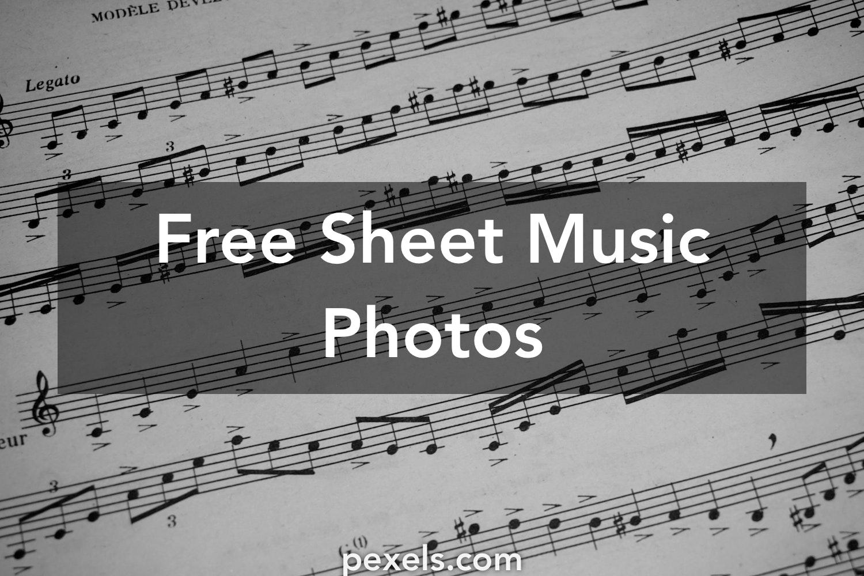 1000+ Great Sheet Music Photos · Pexels · Free Stock Photos