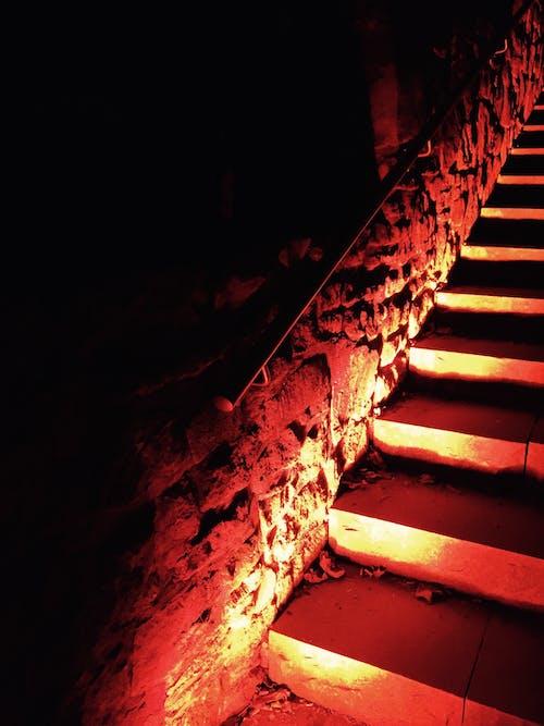 光, 圓石, 室內, 扶手 的 免費圖庫相片