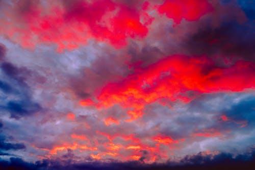 多雲的, 天空, 戲劇化, 戲劇性的天空 的 免費圖庫相片
