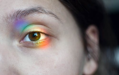 Gratis lagerfoto af brune øjne, close-up, hår, hud