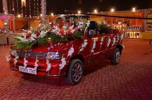 Darmowe zdjęcie z galerii z hinduski, indyjski samochód, samochód, ślub