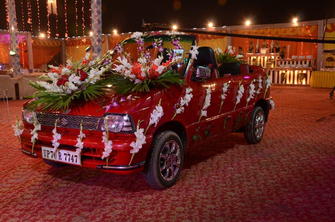 lễ cưới, người Ấn Độ, xe ấn độ