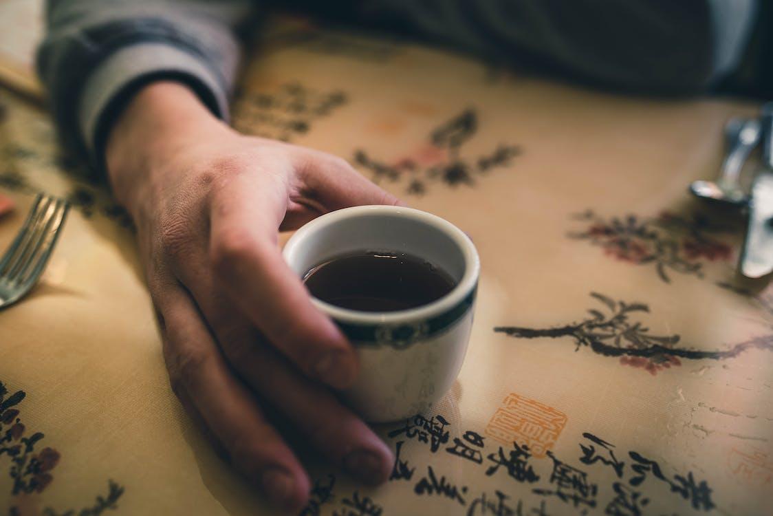 čerstvý, horko, káva