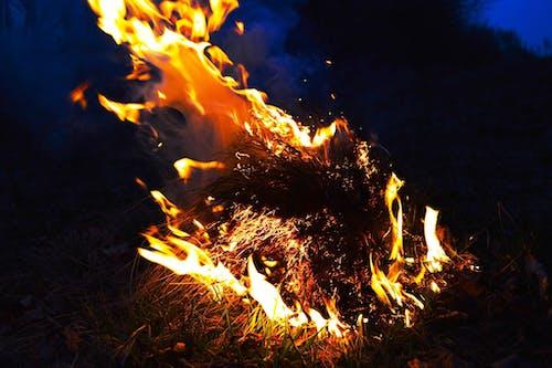 Gratis lagerfoto af bål, brand, flamme