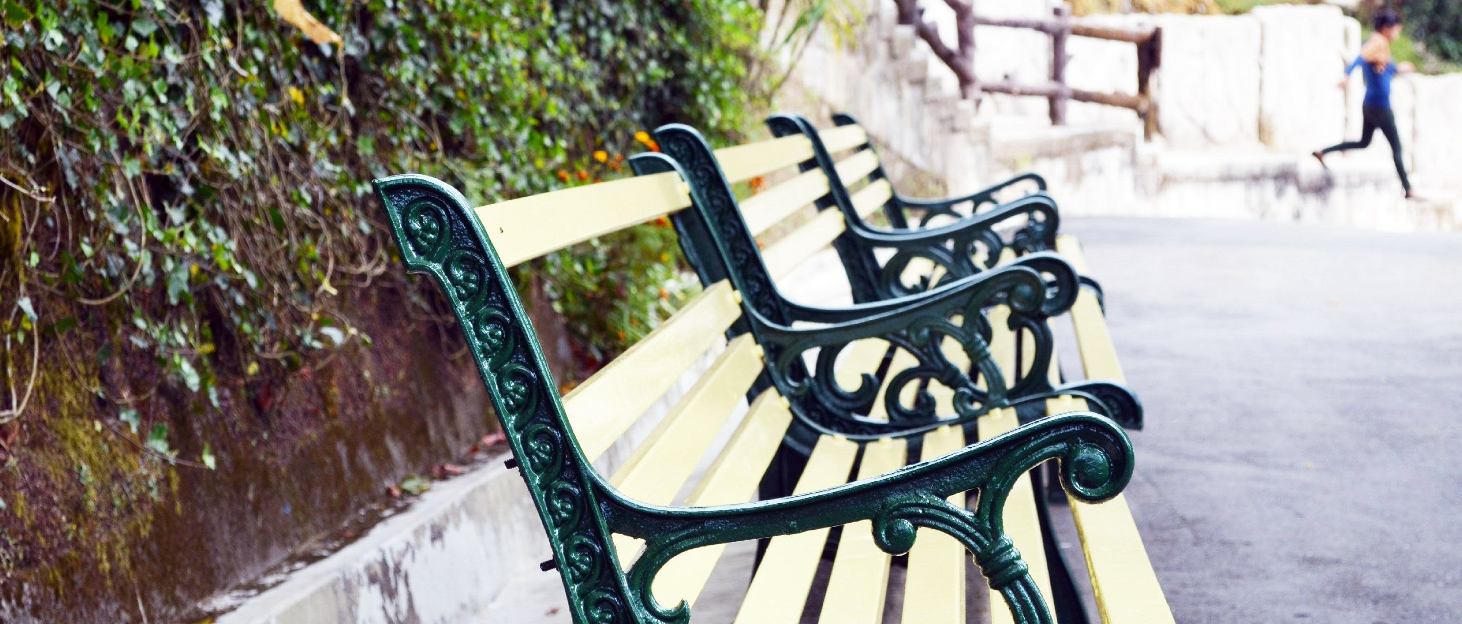 Free stock photo of chair, park bench, wooden bench