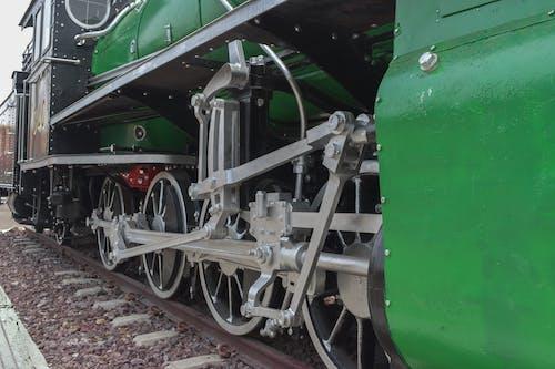Free stock photo of antique, black, coal, engine