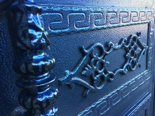 Free stock photo of blue, door, metal