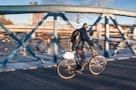 man, bike, bicycle