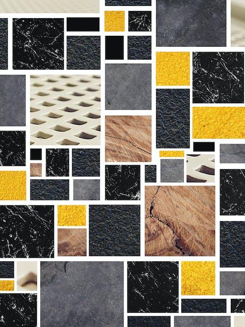 Kostenloses Stock Foto zu blöcke, formen, formen und muster, geometrische formen