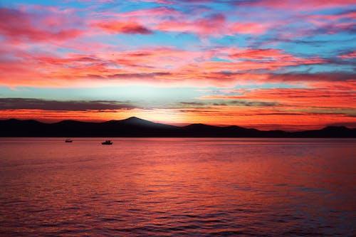Imagine de stoc gratuită din apă, apus, cer, colorat