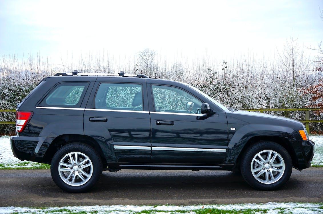 4x4, auto, heldere lucht