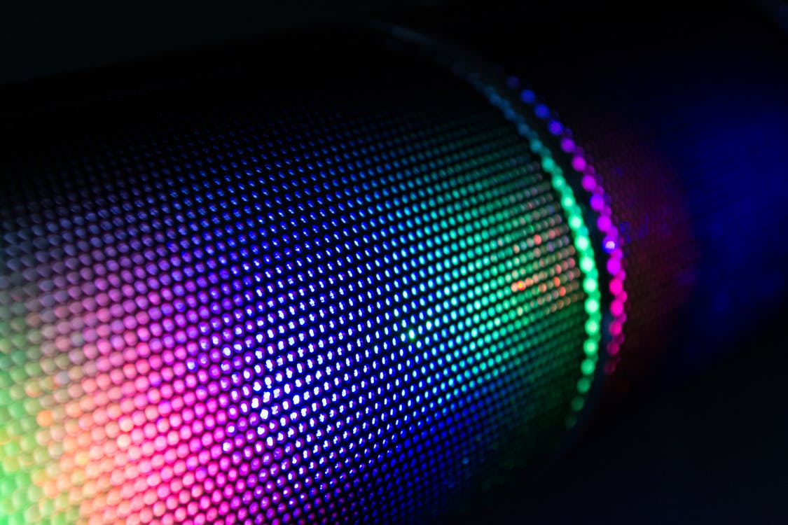 Multicolored Lighted Device