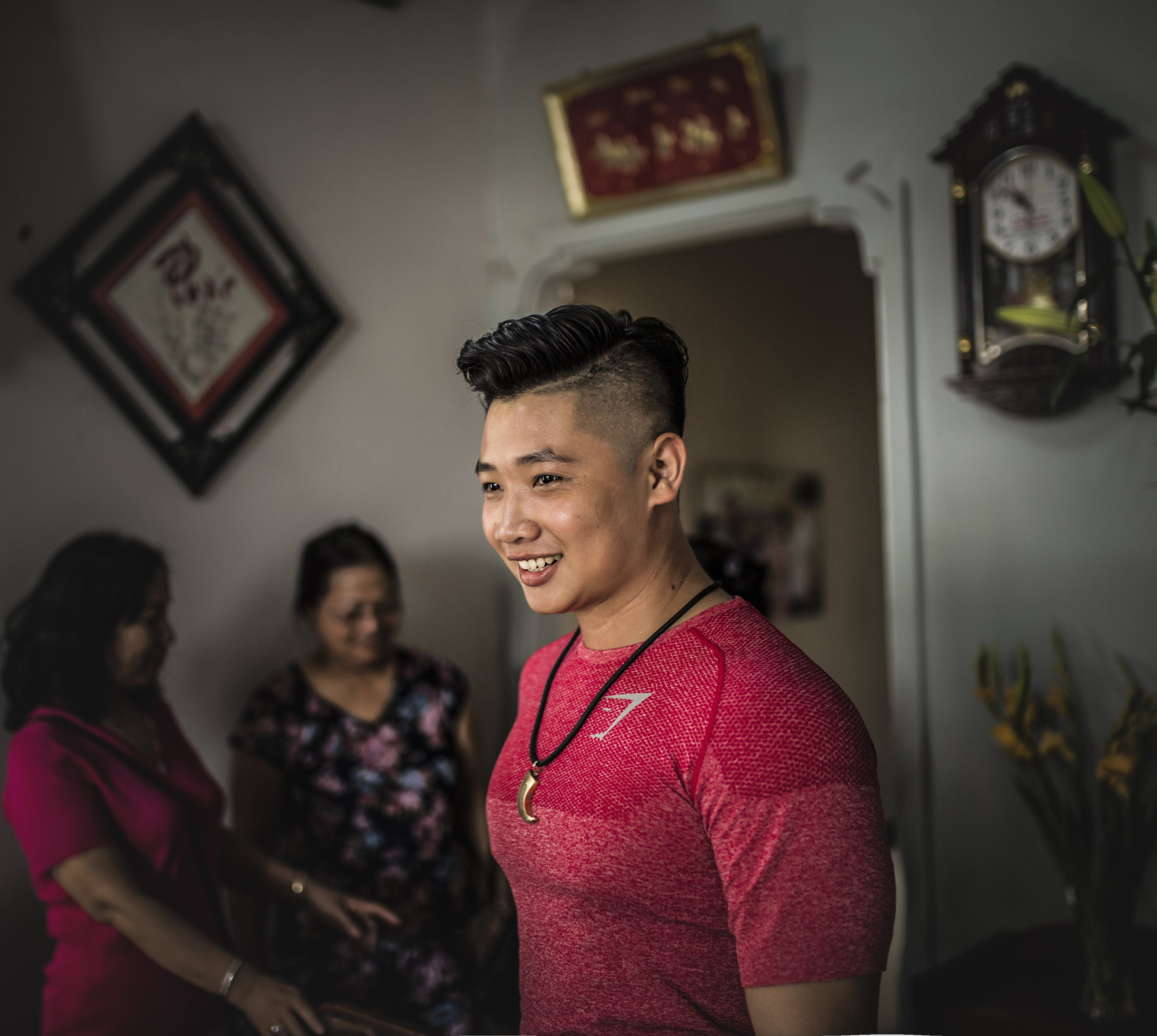 Základová fotografie zdarma na téma asiaté, asijský, asijský kluk, červená