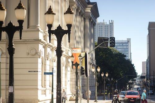 Kostenloses Stock Foto zu abend, architektur, autos, brasilien