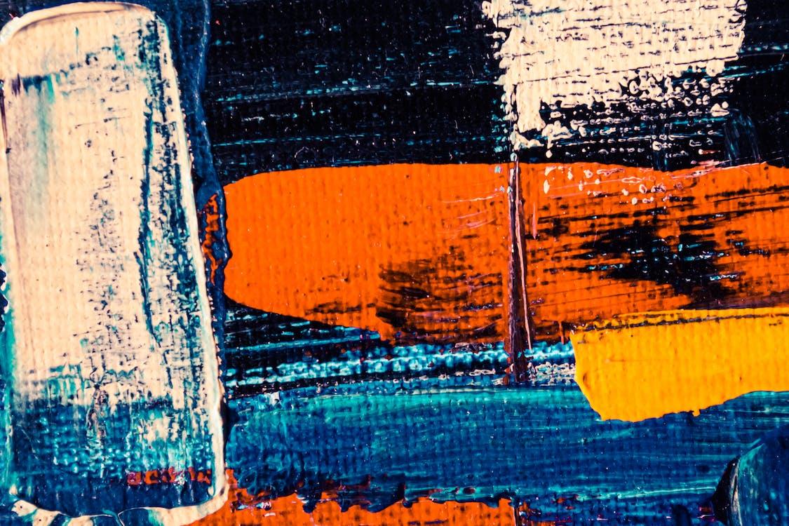 stokes, абстрактний, апельсин