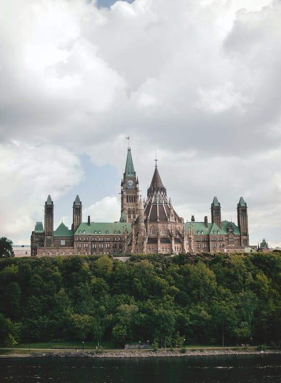 Photo of Beige and Green Castle