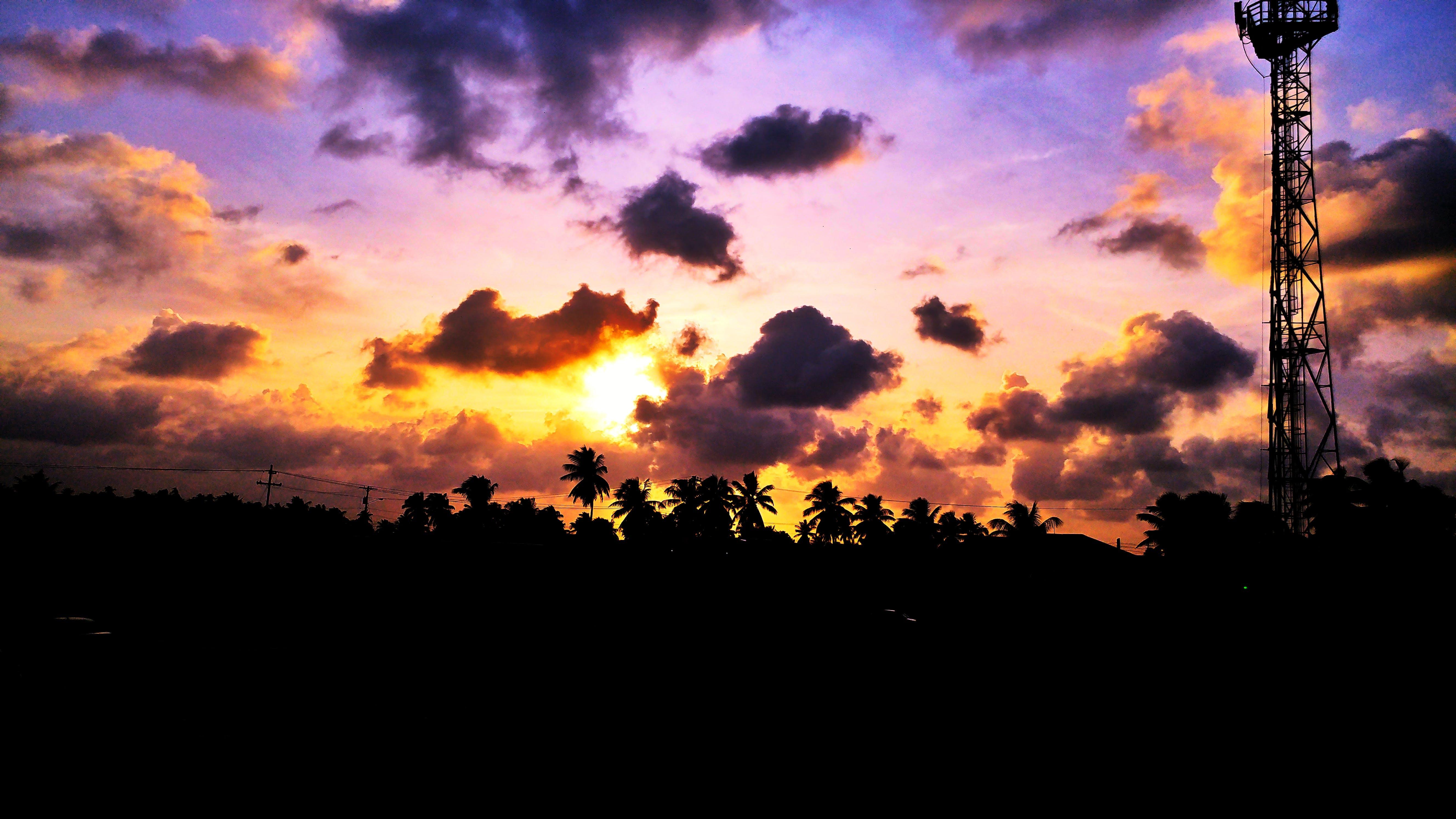 Ilmainen kuvapankkikuva tunnisteilla auringonlasku, aurinko, ilta, luonto