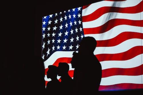 Kostnadsfri bild av administrering, amerikanska flaggan, bakgrund, baner