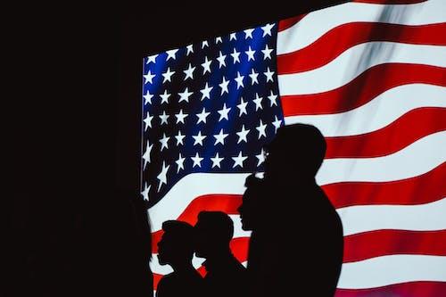 Gratis lagerfoto af administration, Amerikansk flag, banner, demokrati