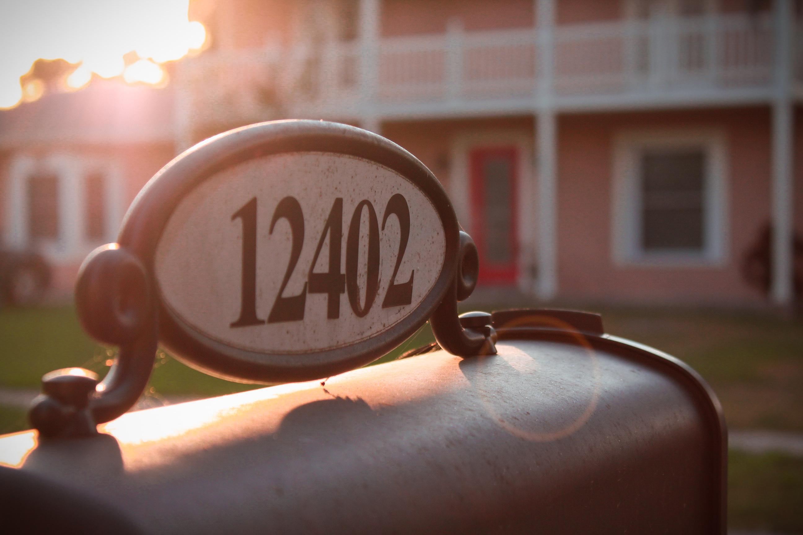 12402 Mailbox during Sunrise