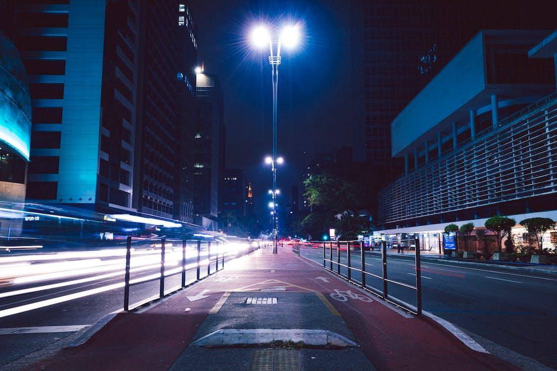 accéléré, architecture, asphalte