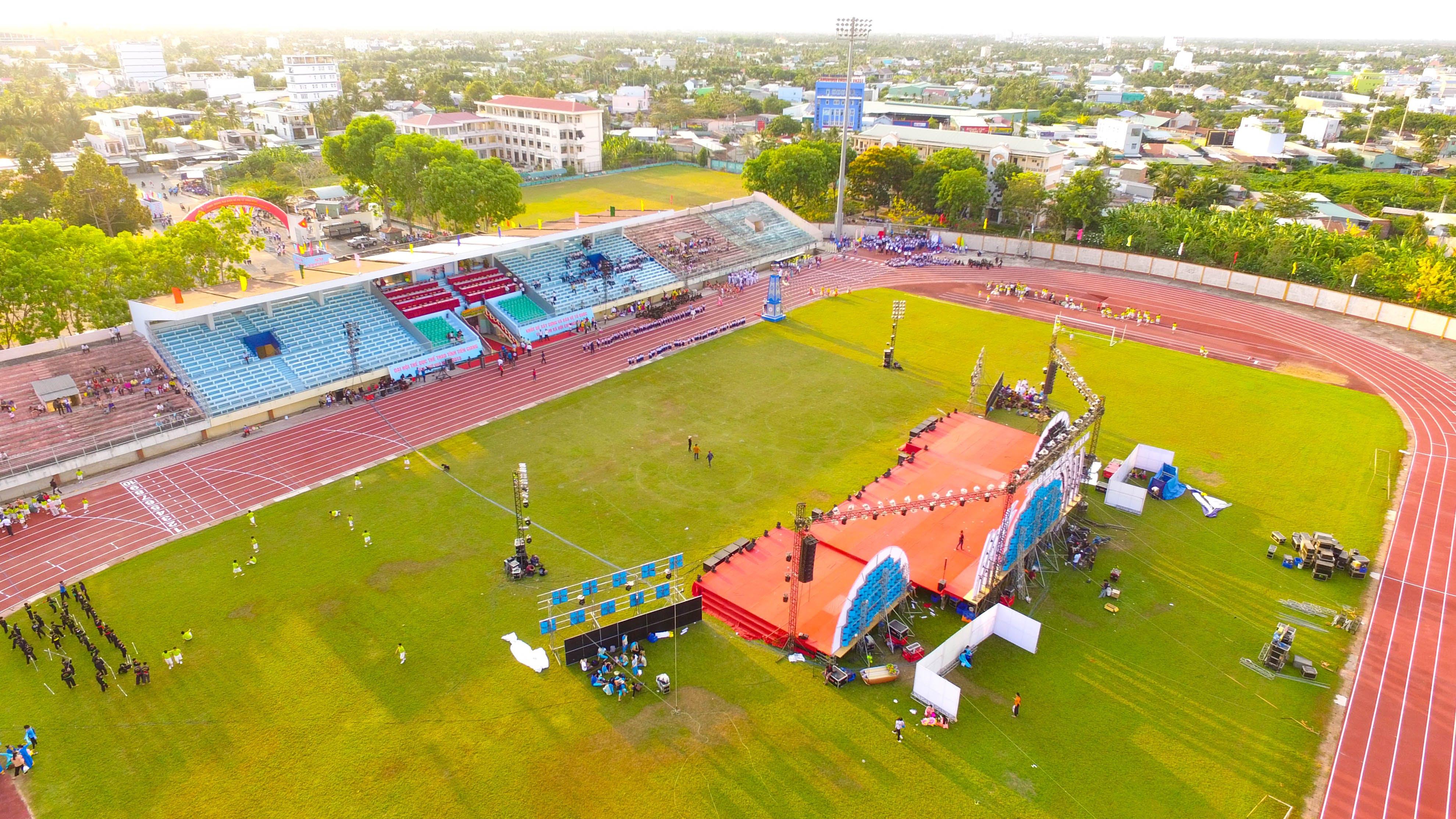 Aerial Photography of Stadium