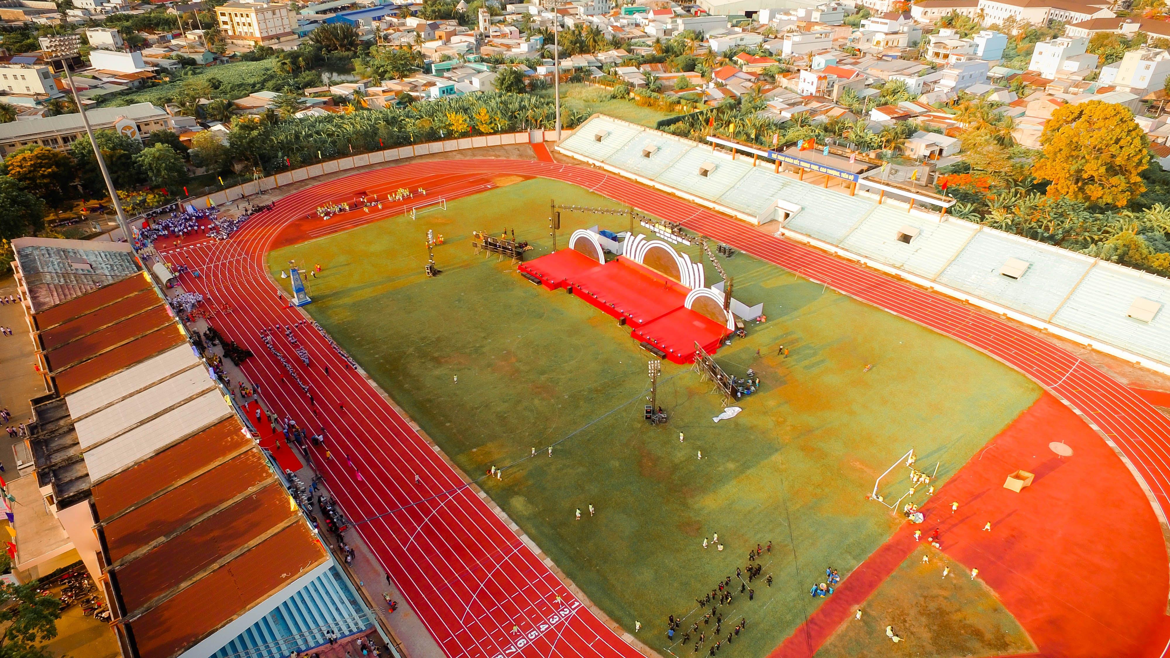 Aerial View Photo of Stadium