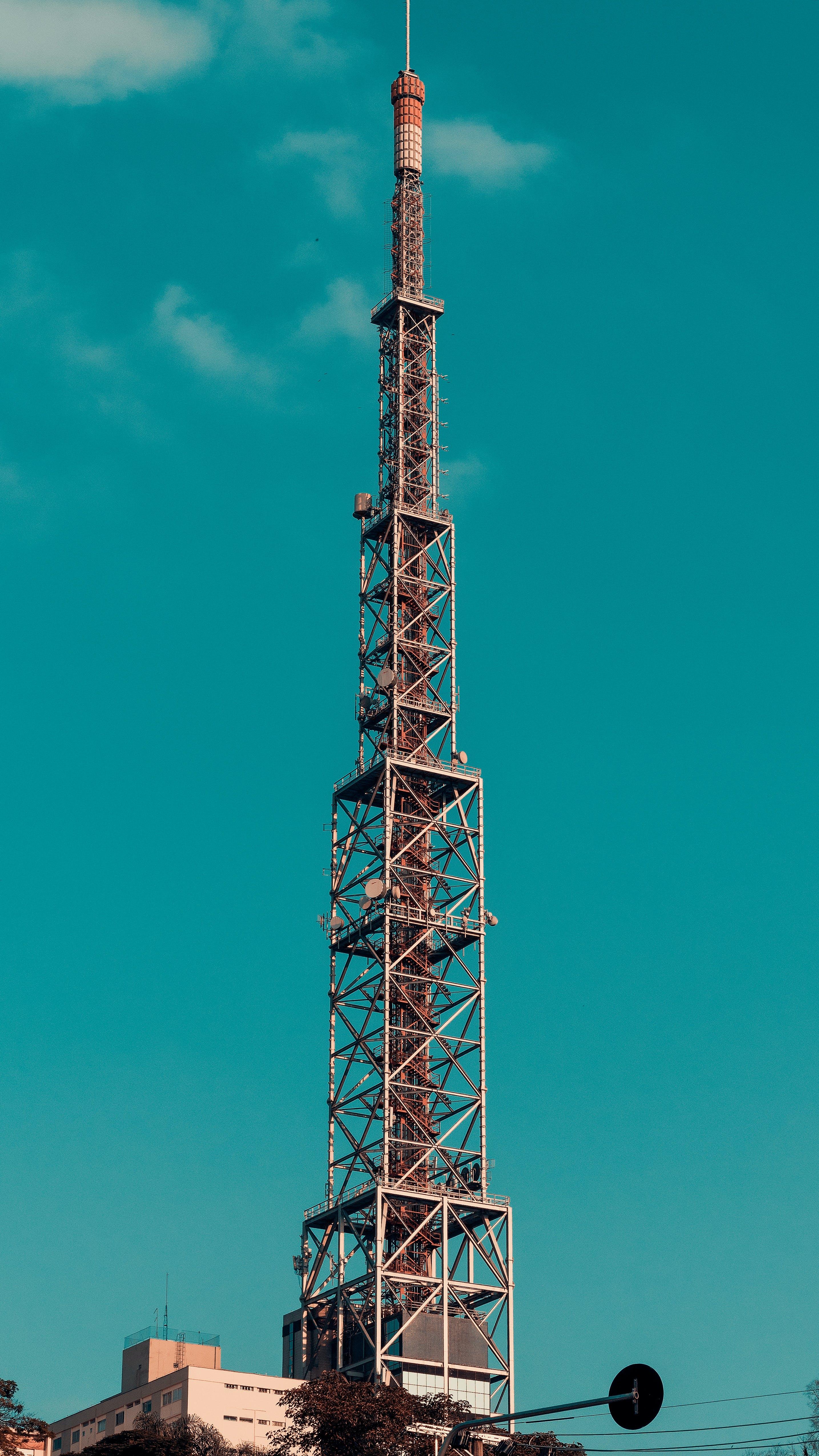 エア放送, ステンレス鋼, タワー