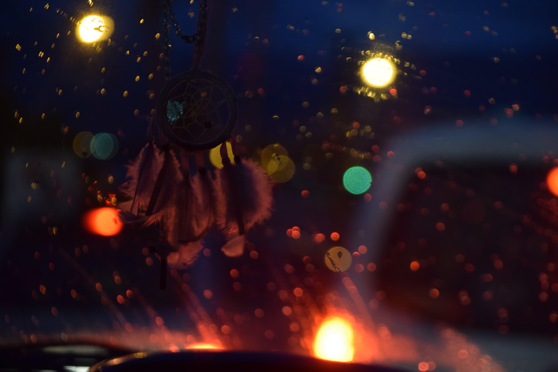 Free stock photo of night, car, bokeh