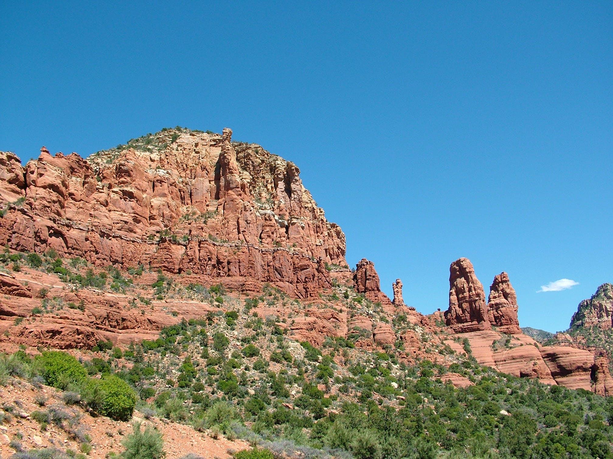 Free stock photo of red rock, sedona