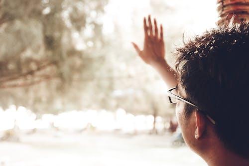 Kostenloses Stock Foto zu brillen, draußen, erwachsener, fenster