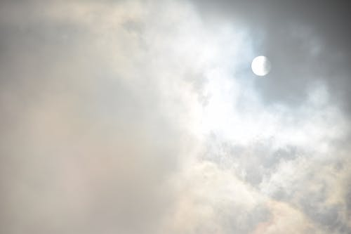 Free stock photo of clouds, cloudy, hidden, sun