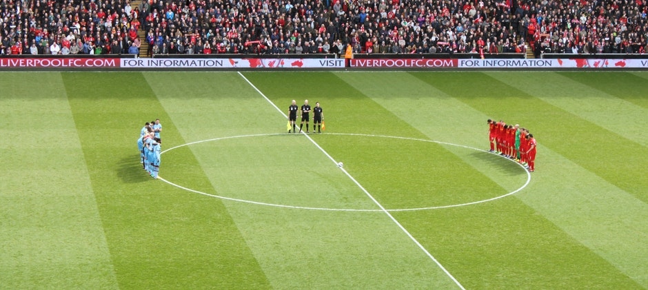 football, green, Liverpool