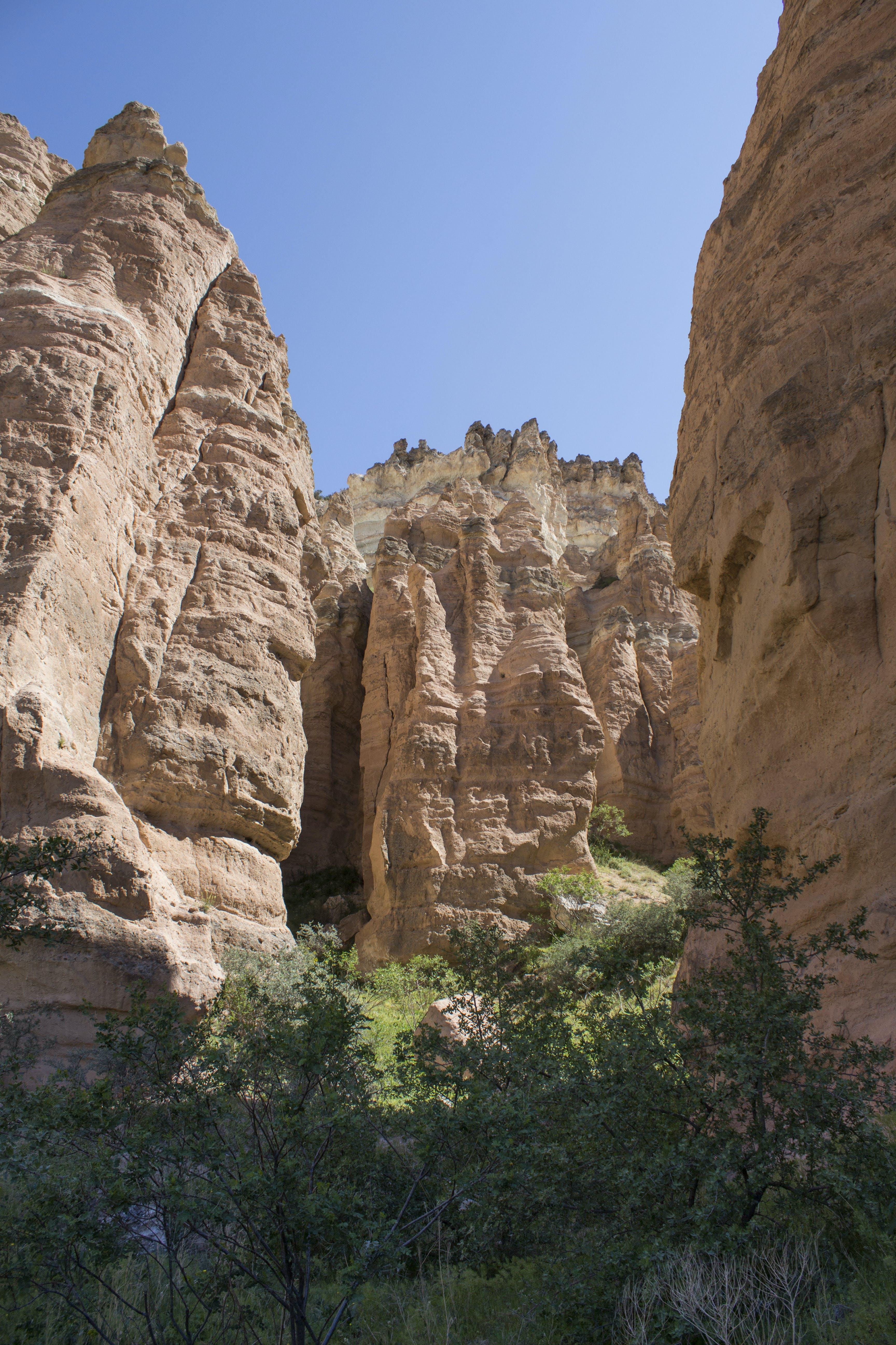 Free stock photo of canyon, cappadocia, nature, rocks