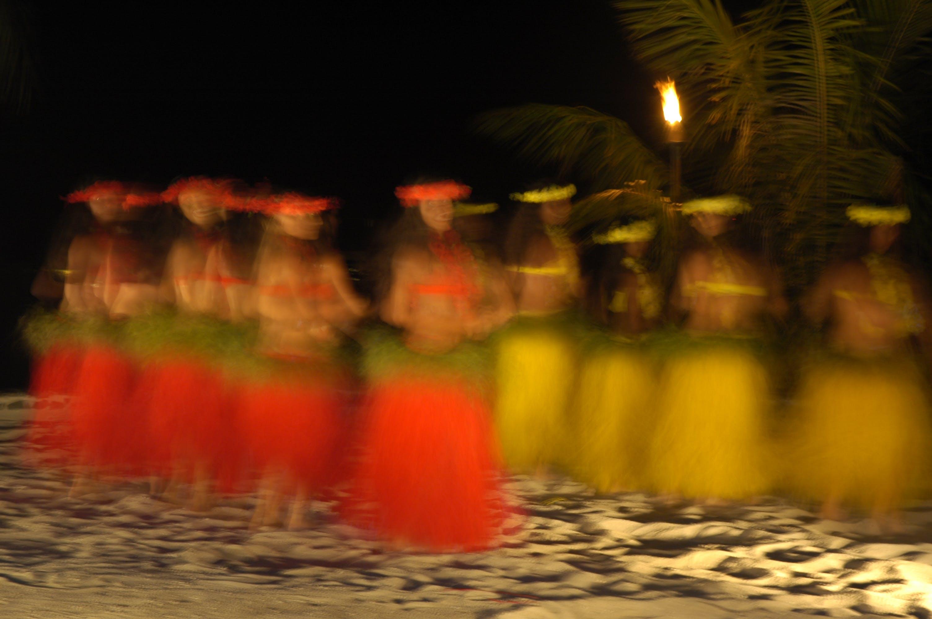 Free stock photo of dancing, bora-bora