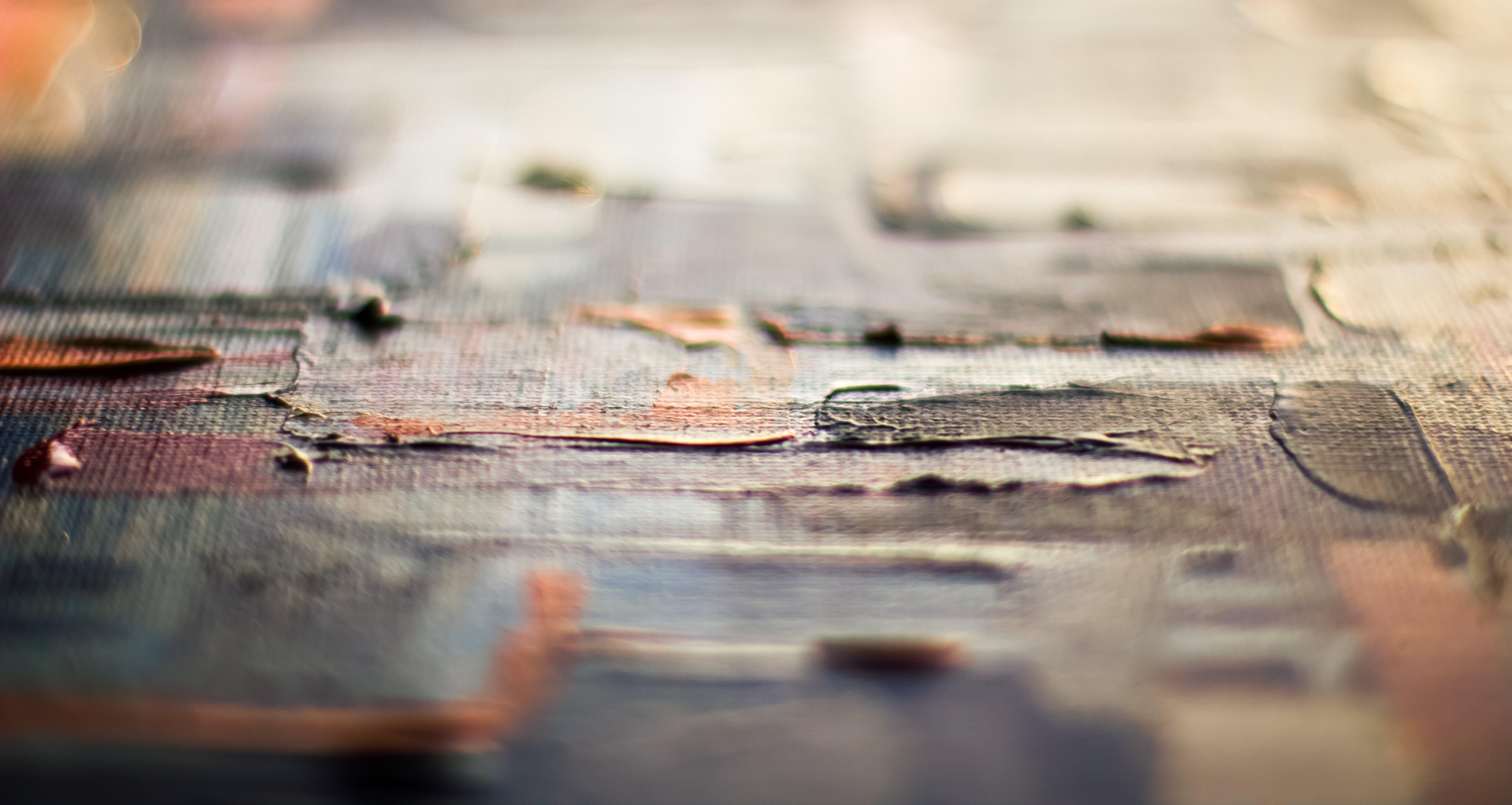 Tilt Shift Photography of Gray Surface