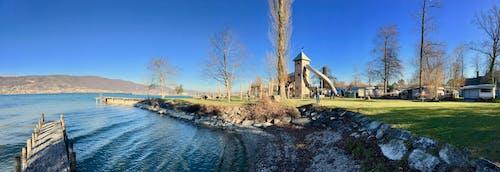 Immagine gratuita di campeggio, lago, suiza