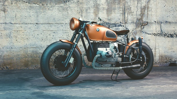 Kostenloses Stock Foto zu fahrzeug, motorrad, bmw