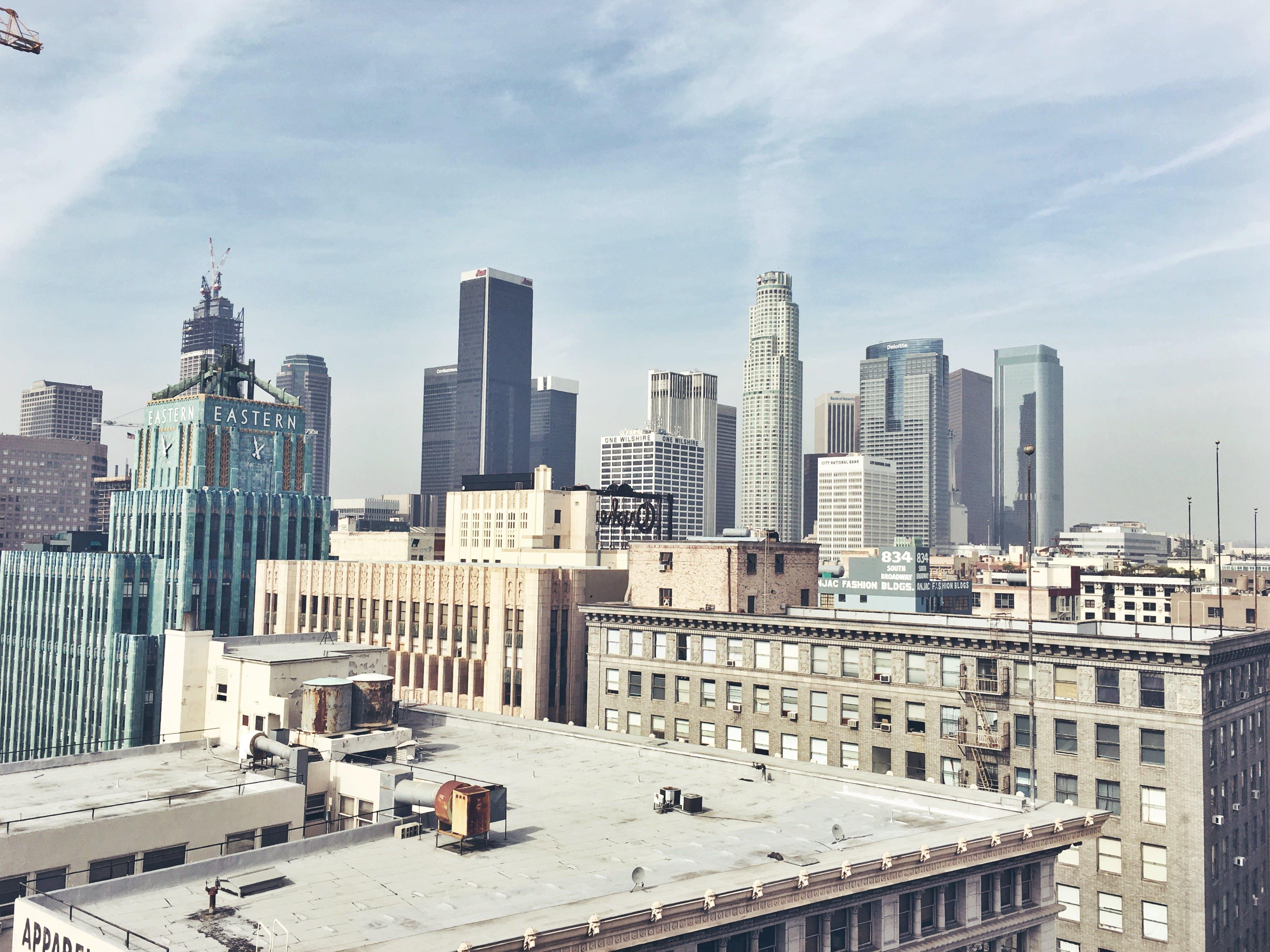 ánh sáng ban ngày, các tòa nhà, cảnh quan thành phố
