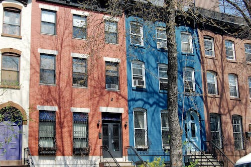 Free stock photo of apartment building, brooklyn, new york
