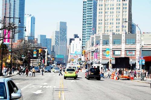 Free stock photo of new york, new york city wallpaper, street view