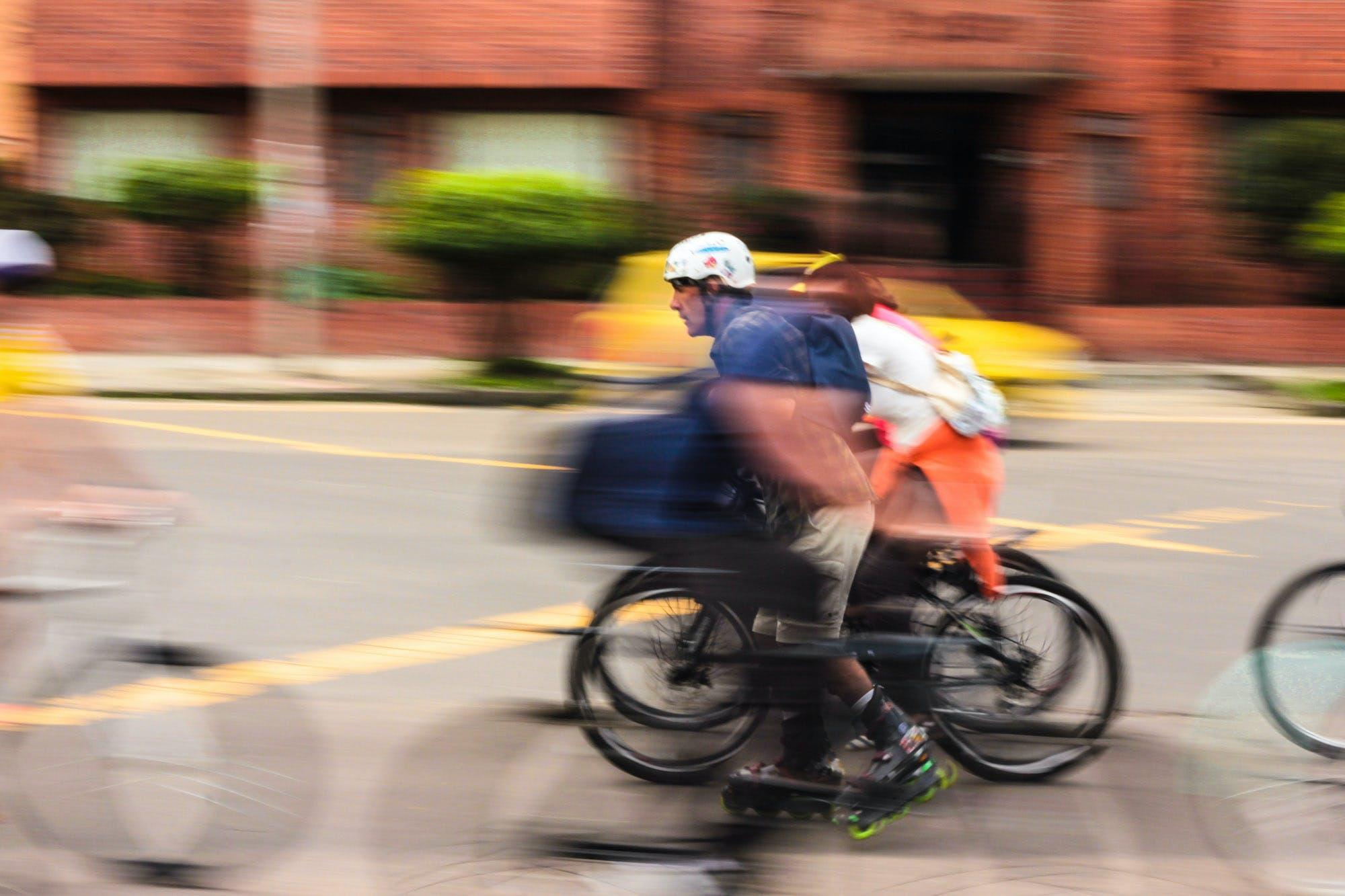Gratis lagerfoto af bevægelse, bicicletas, calles, cool