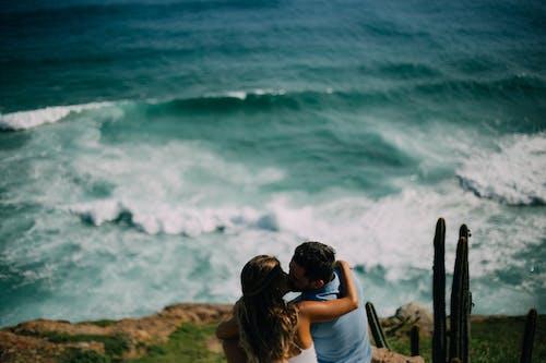 Photos gratuites de amour, arraial do cabo, bleu, couple