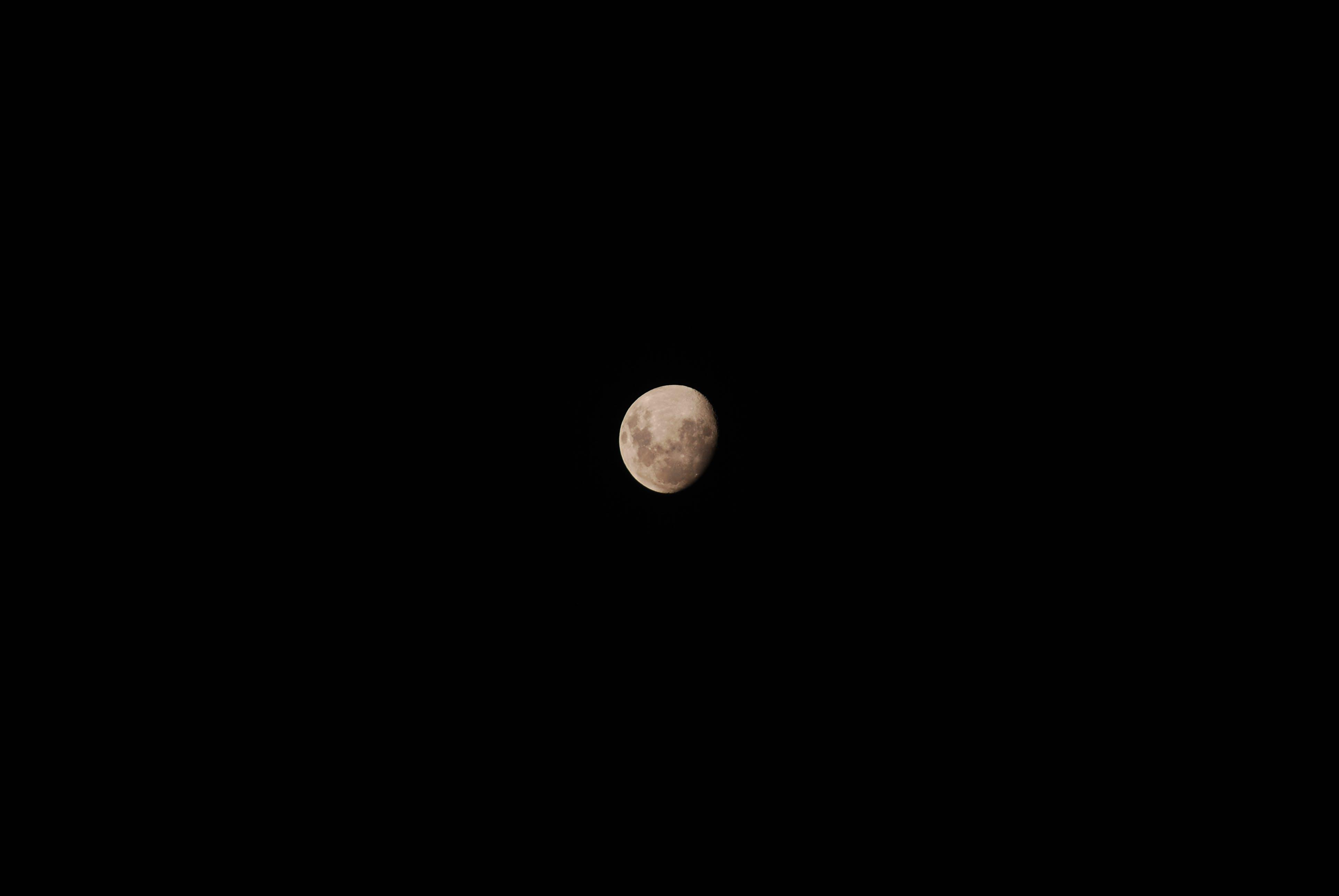 Photography of Moon at Night